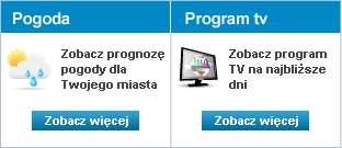 Prognoza pogody i program TV