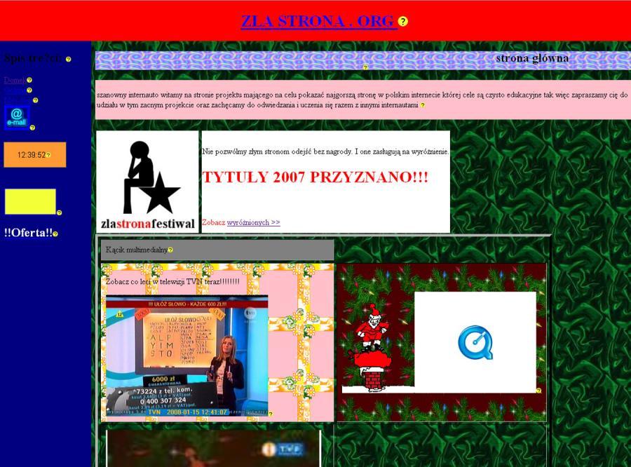 Zlastrona.org przyznała wyróżnienia najgorszym stronom polskiego internetu