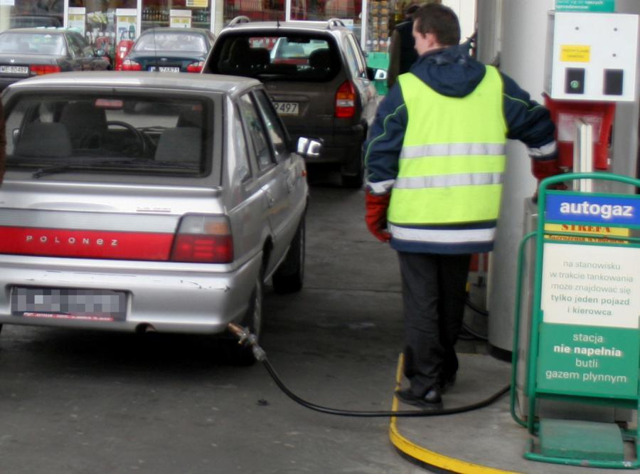Samochody zasilane gazem nie lubią zimy
