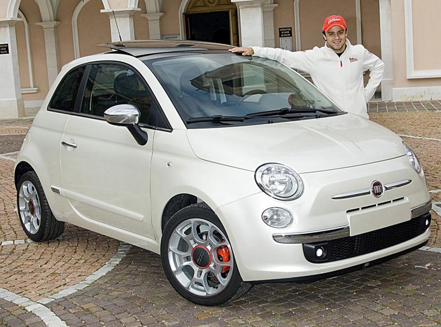 Felipe Massa - z ferrari do… małego fiata
