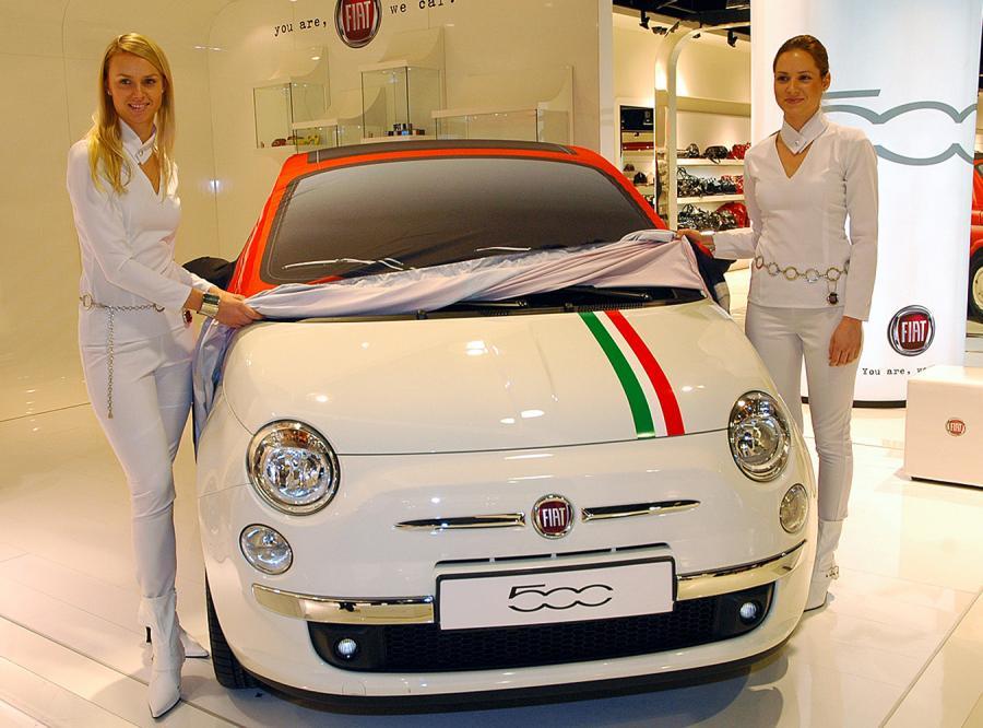Fiat 500 autem nr 1 w Polsce