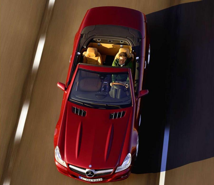 Mercedes SL - nowe szaty króla na wiosnę