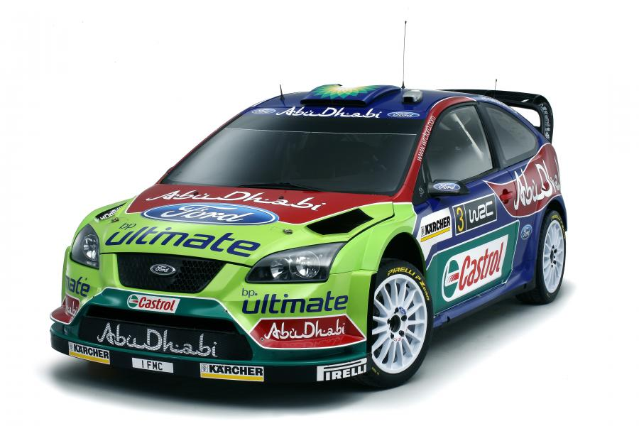 Ford Abu Dhabi World Rally Team WRC