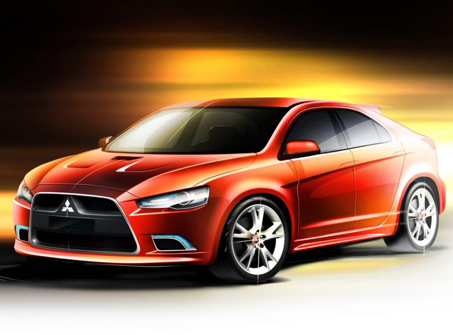 Mitsubishi pokazało lancera sportback