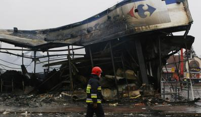 Pożary obiektów Carrefoura nie są przypadkowe?