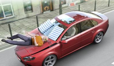 Poduszka powietrzna dla pieszych?