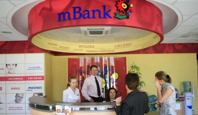 mBank rezygnuje z opłat za przelewy