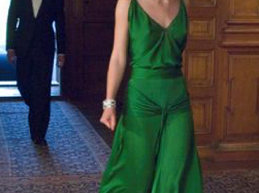 Zielona suknia Keiry Knightley z filmu \