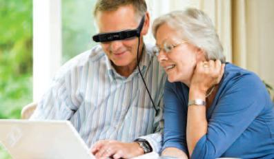 Popraw dziadkowi wzrok, zrób z niego cyborga