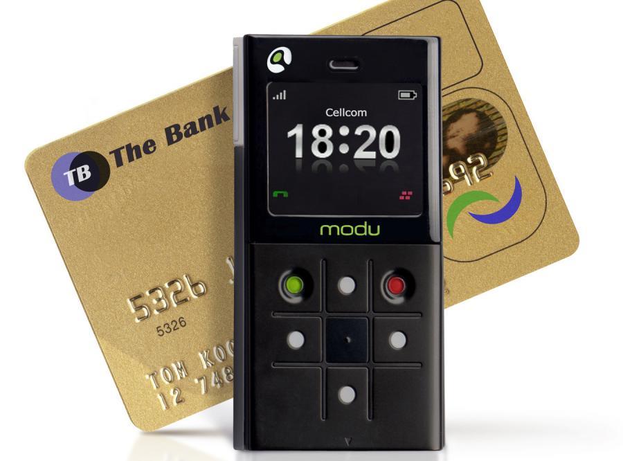 MoDu jest mniejszy od karty kredytowej, niewiele od niej grubszy i waży zaledwie 43 gramy
