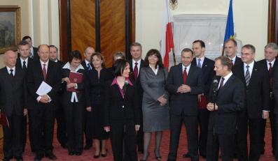 Premier Donald Tusk ze swoimi ministrami zamierza rządzić jeszcze przez dwie kadencje