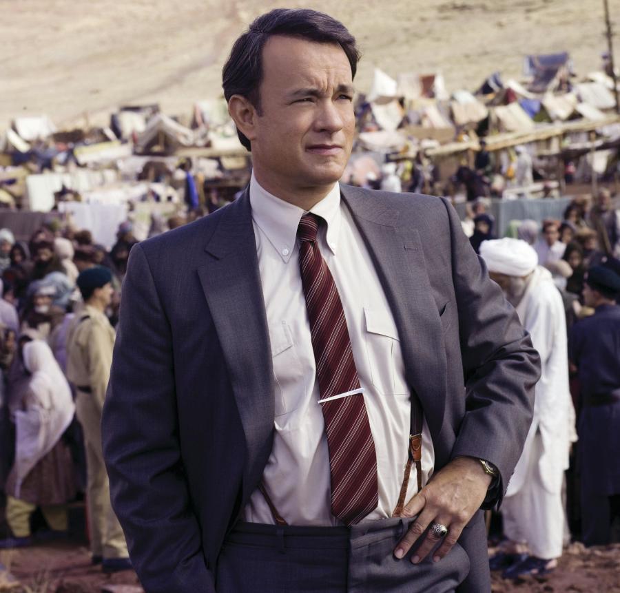 Tom Hanks w \
