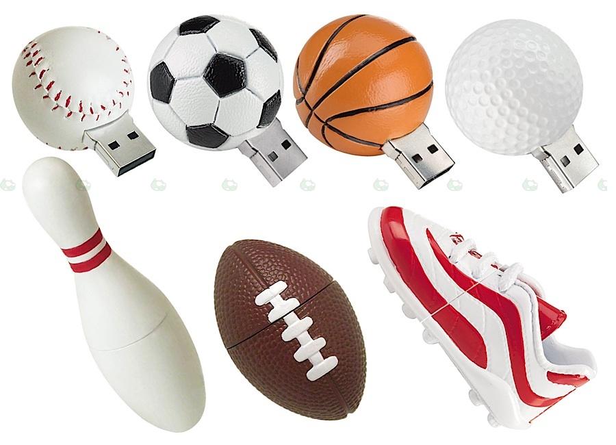 Kostki pamięci flash dla miłośników sportu
