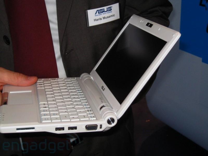 9-calowy Eee 12GB za 399 euro w połowie 2008