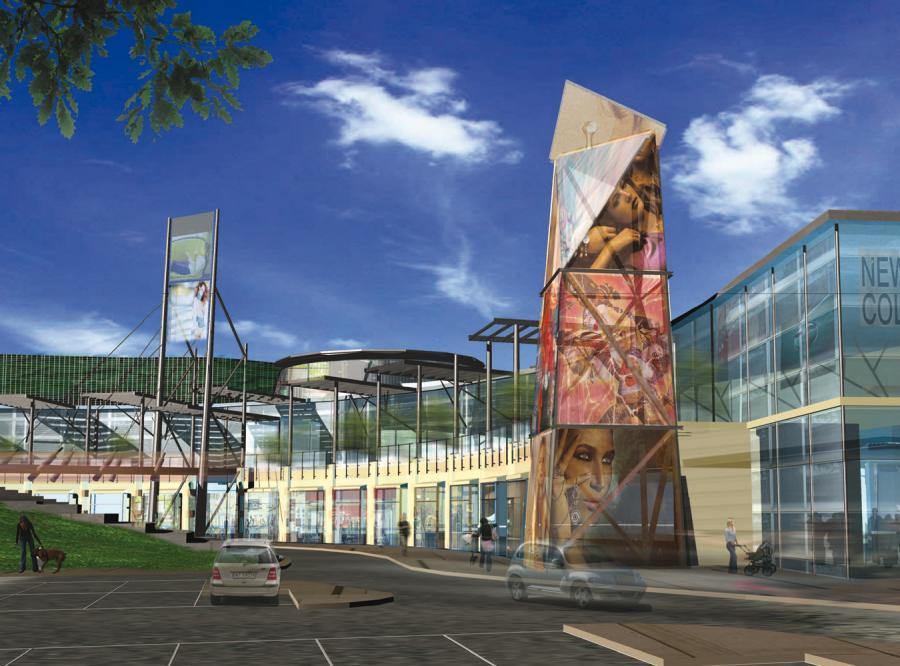 Galeria Jastrzębie stanie w centrum Jastrzębia-Zdroju.