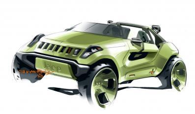 Jeep renegate to hybryda silnika elektrycznego i czystego turbodiesla z technologią Bluetec