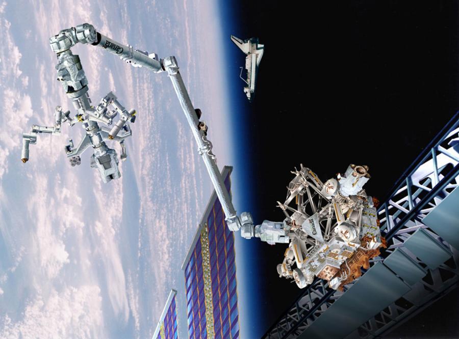 Kanadyjski robot będzie pracował na stacji kosmicznej