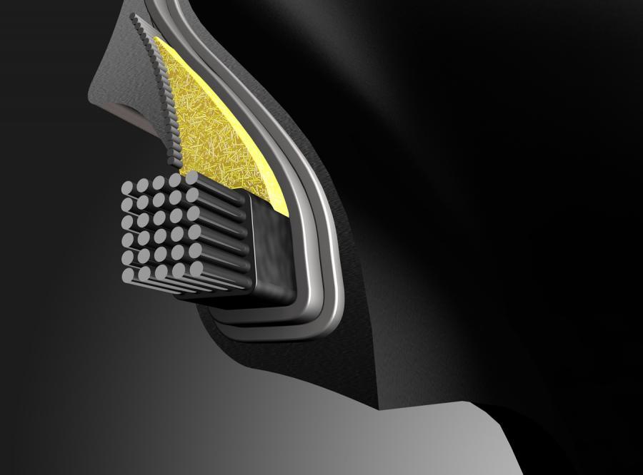 Opona z technologią kosmiczną
