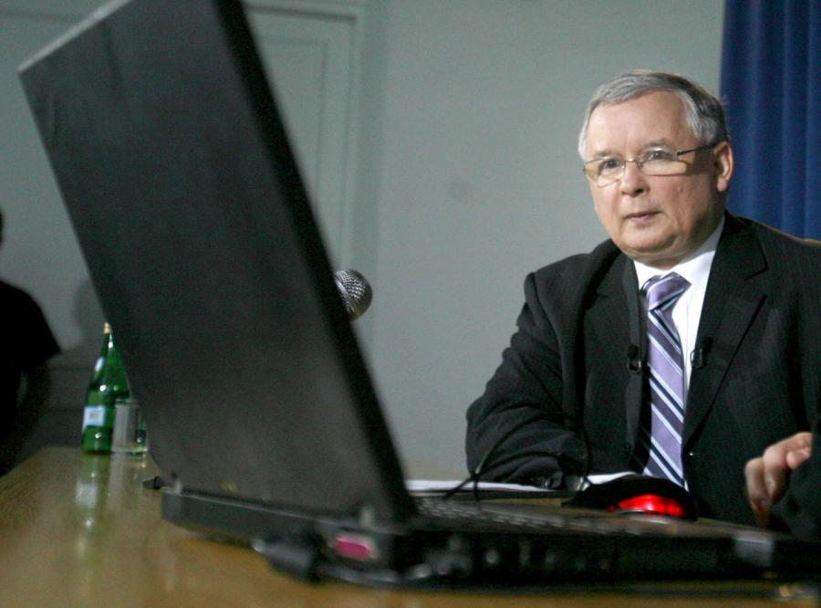 Kaczyński wreszcie założył konto