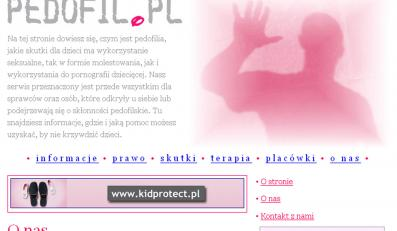 Pierwsza strona dla pedofilów