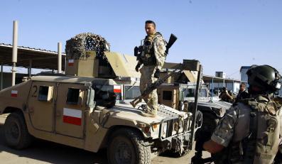 Rakiety spadły na polską bazę w Iraku
