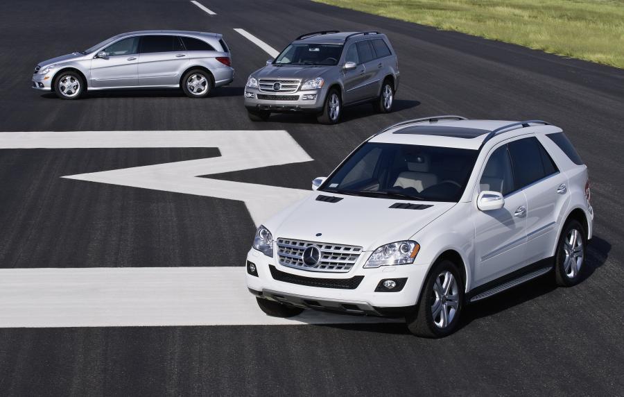Mercedes pokazał najnowsze wcielenia ekologicznych SUV-ów