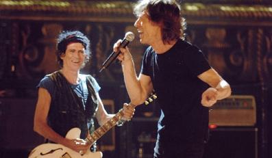 The Rolling Stones z dziewczynami w Teksasie