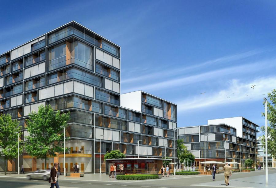 Osiedle przy Siennej pomieści 1,5 tys. mieszkań