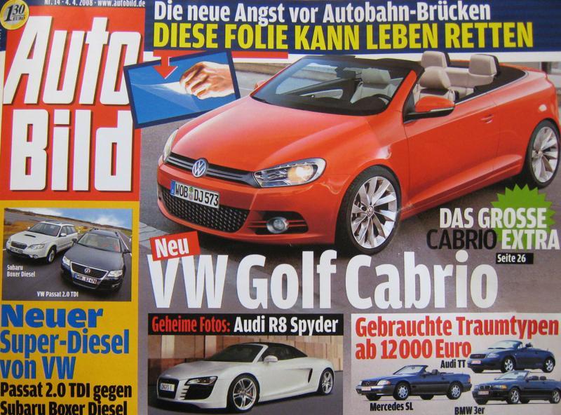Tak wygląda VW golf szóstej generacji?