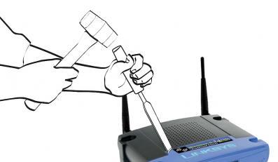 Popularne routery podatne na atak hakera