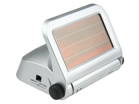 Filtr powietrza na baterię słoneczną