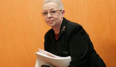Jest niemal pewne,że Ewa Sowińska przestanie być rzecznikiem praw dziecka