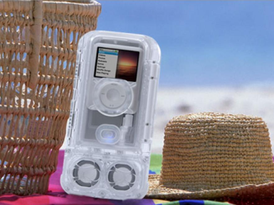 Plażowe ubranie dla iPoda nano