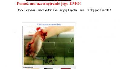 Zachęta do samobójstwa reklamą na aukcji