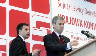 Napieralski startuje w wyborach na szefa SLD