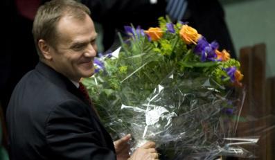 Premier Donald Tusk  kończy dziś 51 lat