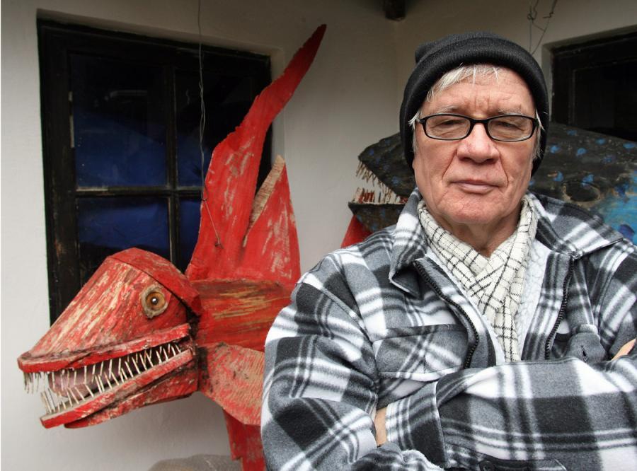 Józef Wilkoń: Moje nosorożce mają twarz