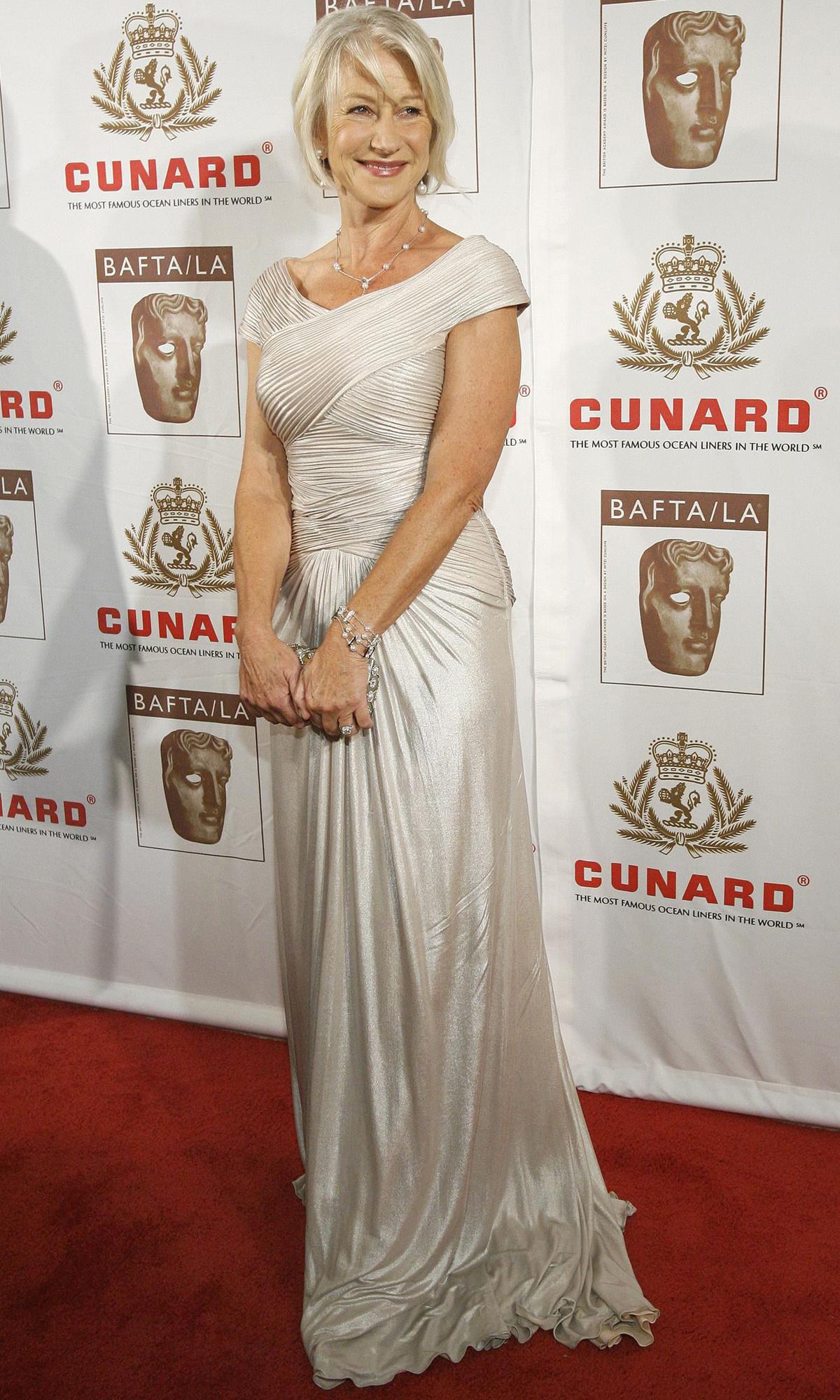 Aktorka Helen Mirren