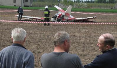 Samolot rozbił się pod Włocławkiem
