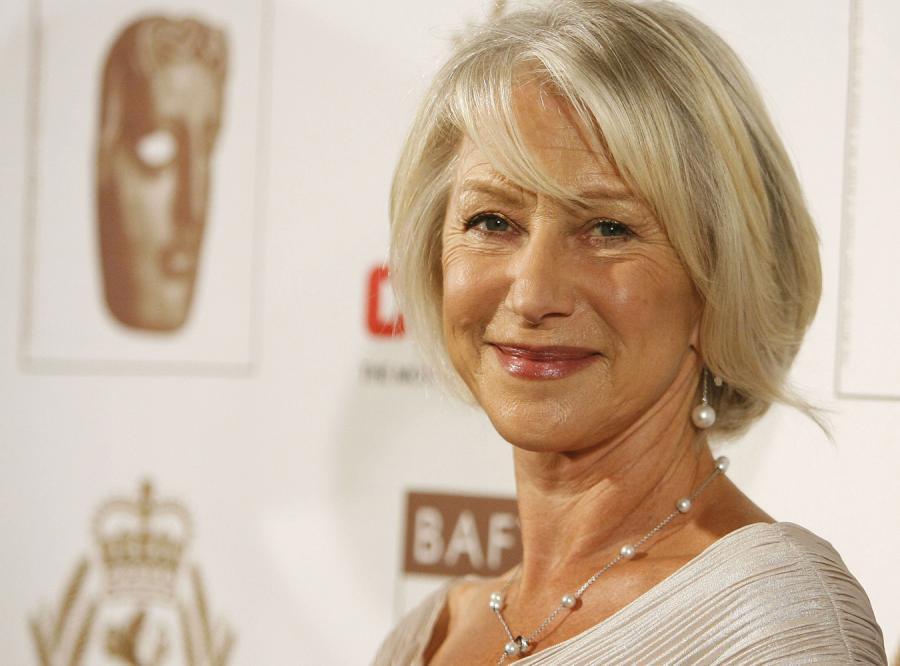 Aktorka Helen Mirren nie wstydzi się siwych włosów