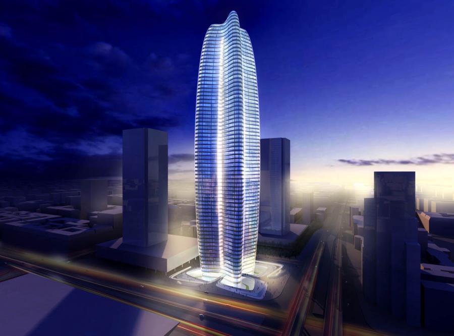 Projekt wieżowca Zahy Hadid, który ma stanąć w centrum Warszawy
