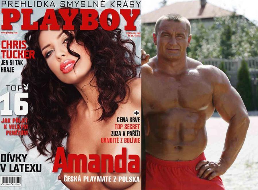 Pudzianowski nie chce króliczka Playboya?