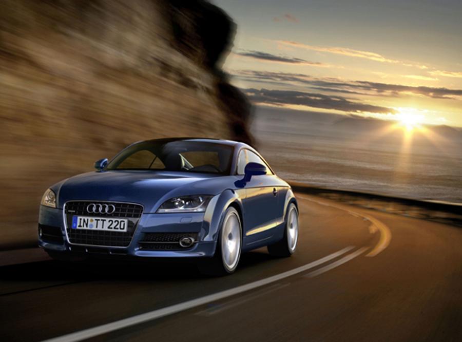 Audi TT - mały, ale z wykopem
