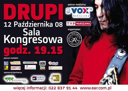 12 października w warszawskiej Sali Kongresowej zagra Drupi - gwiazda włoskiej muzyki