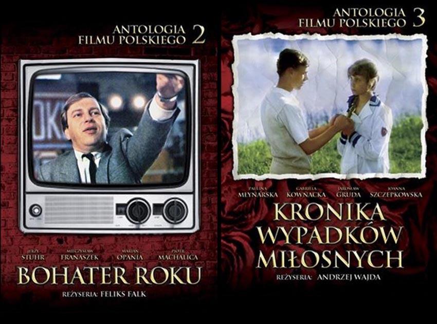 Antologia filmu polskiego - schyłek PRL do kupienia na DVD