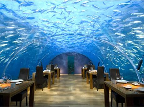 Conrad Rangali Hotel, Malediwy