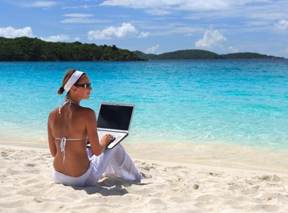 Na wakacje bez laptopa?
