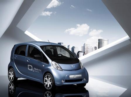 Elektryczny Peugeot - pierwsze zdjęcie