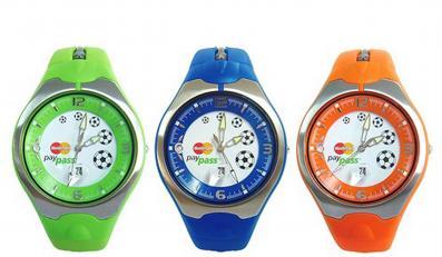 Za zakupy zapłacisz... zegarkiem