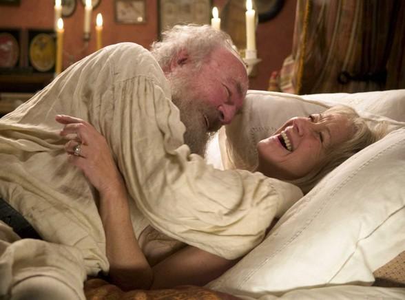 Christopher Plummer i Helen Mirren w filmie \